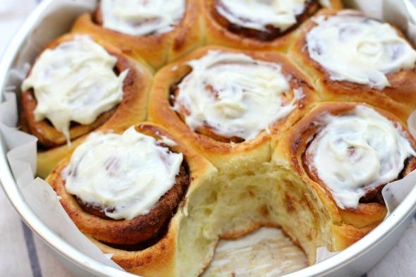 brioche cinnamon buns
