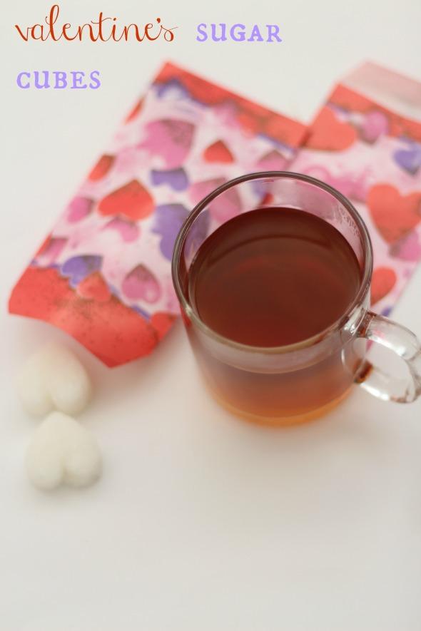 valentine's sugar cubes