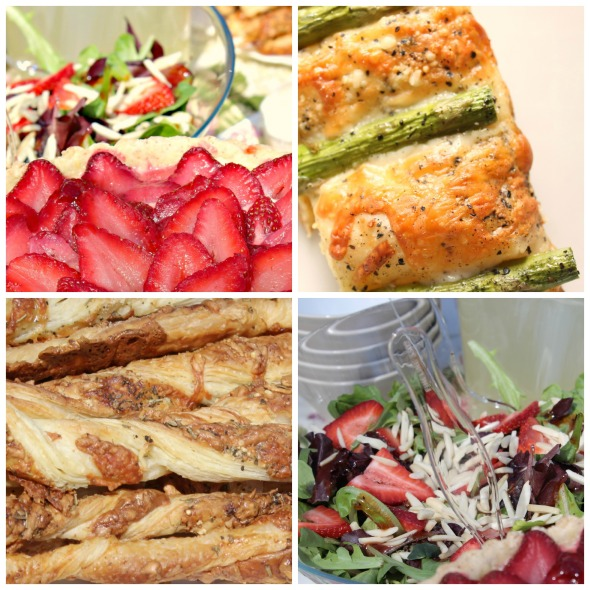 spring fete menu