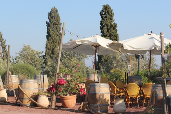 charming terrace