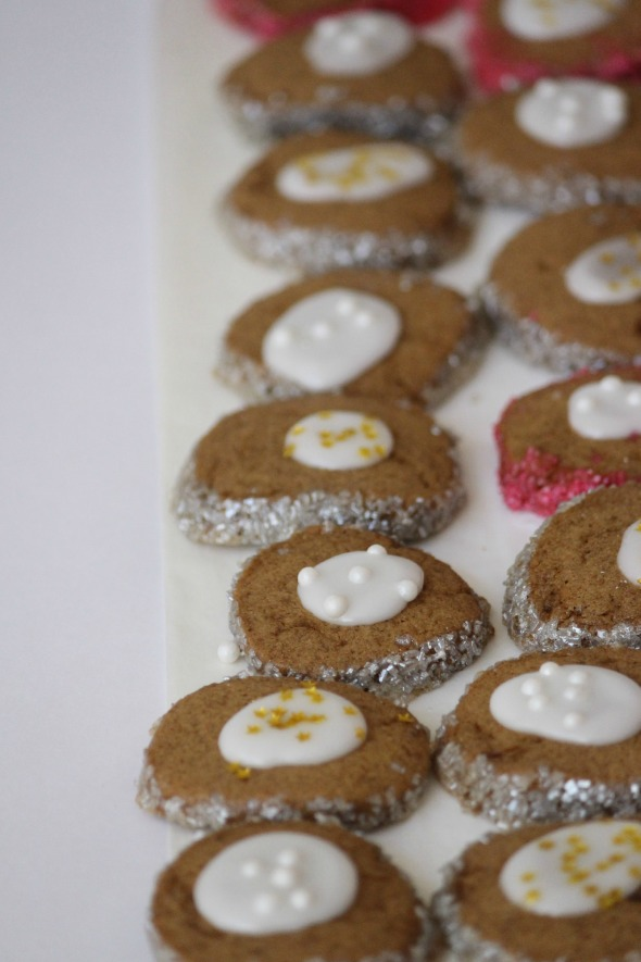 speculoos button cookies