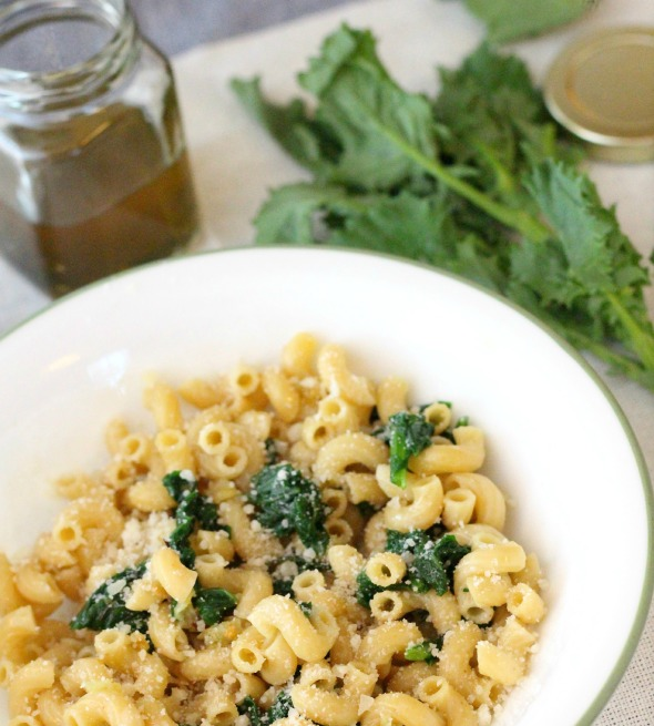 garlic & rosemary oil broccoli rabe pasta