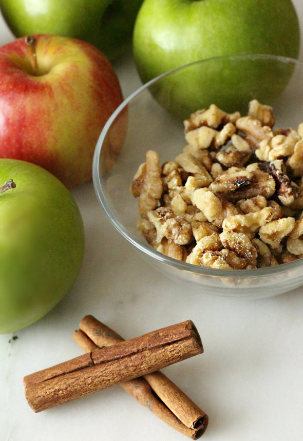 apples + walnuts