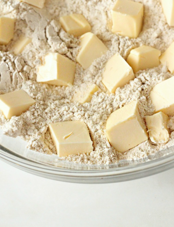 butter + flour mixture