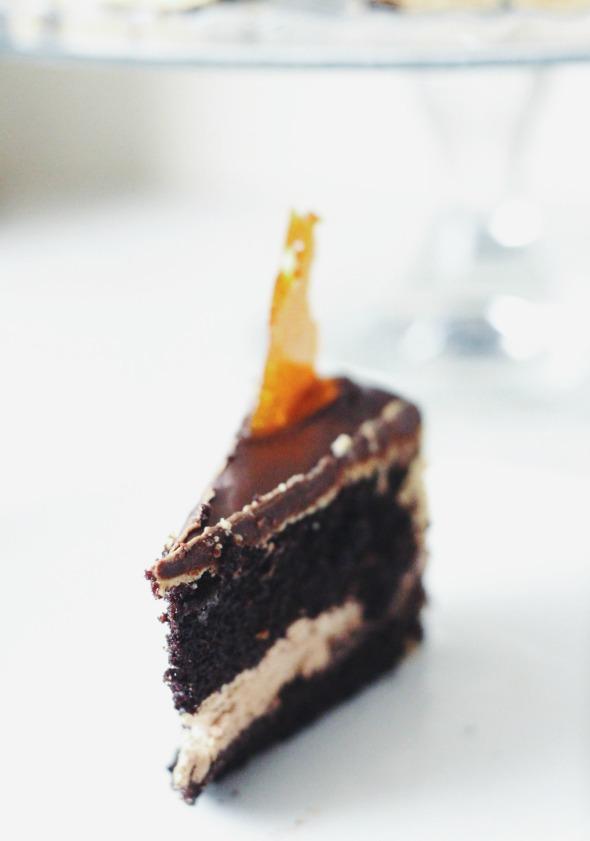chocolate peanut butter crunch cake