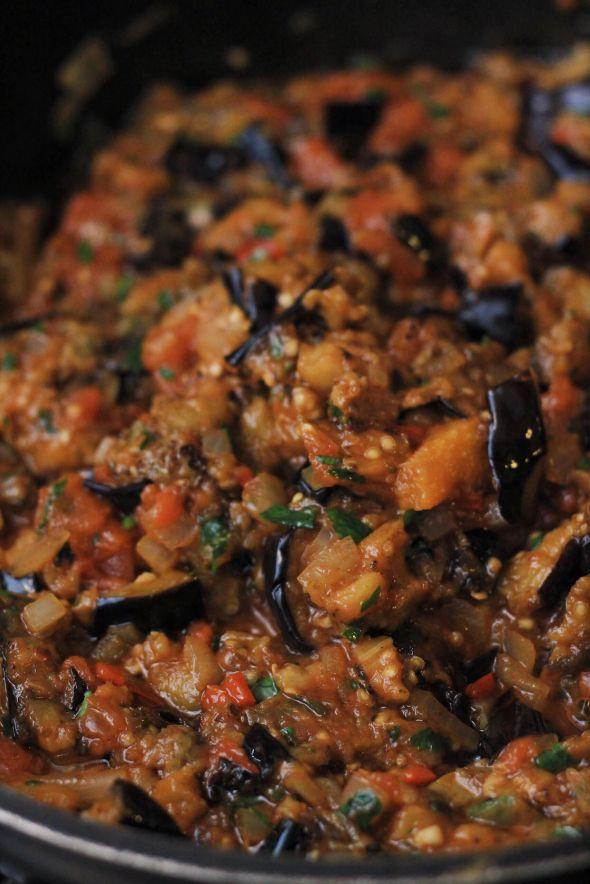 Eggplant & Tomato Jam