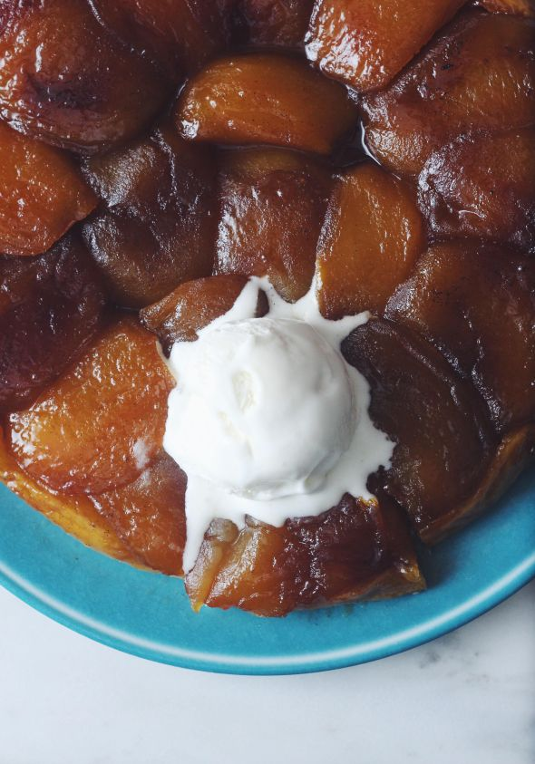 Salted Butter Apple Tarte Tatin