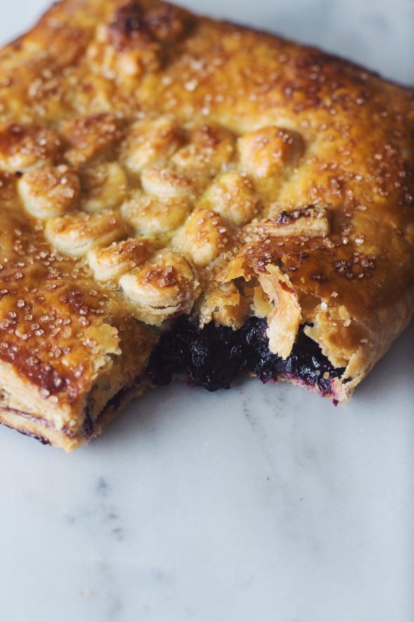 Giant Concord Grape Hand Pie