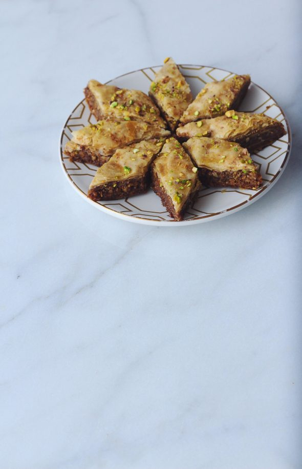 Brown Butter Pistachio Baklava
