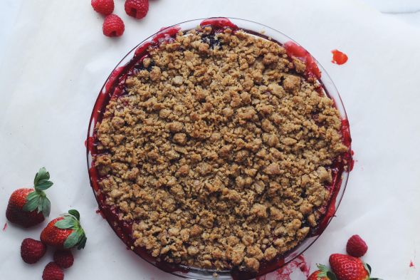 Triple Berry Crumble