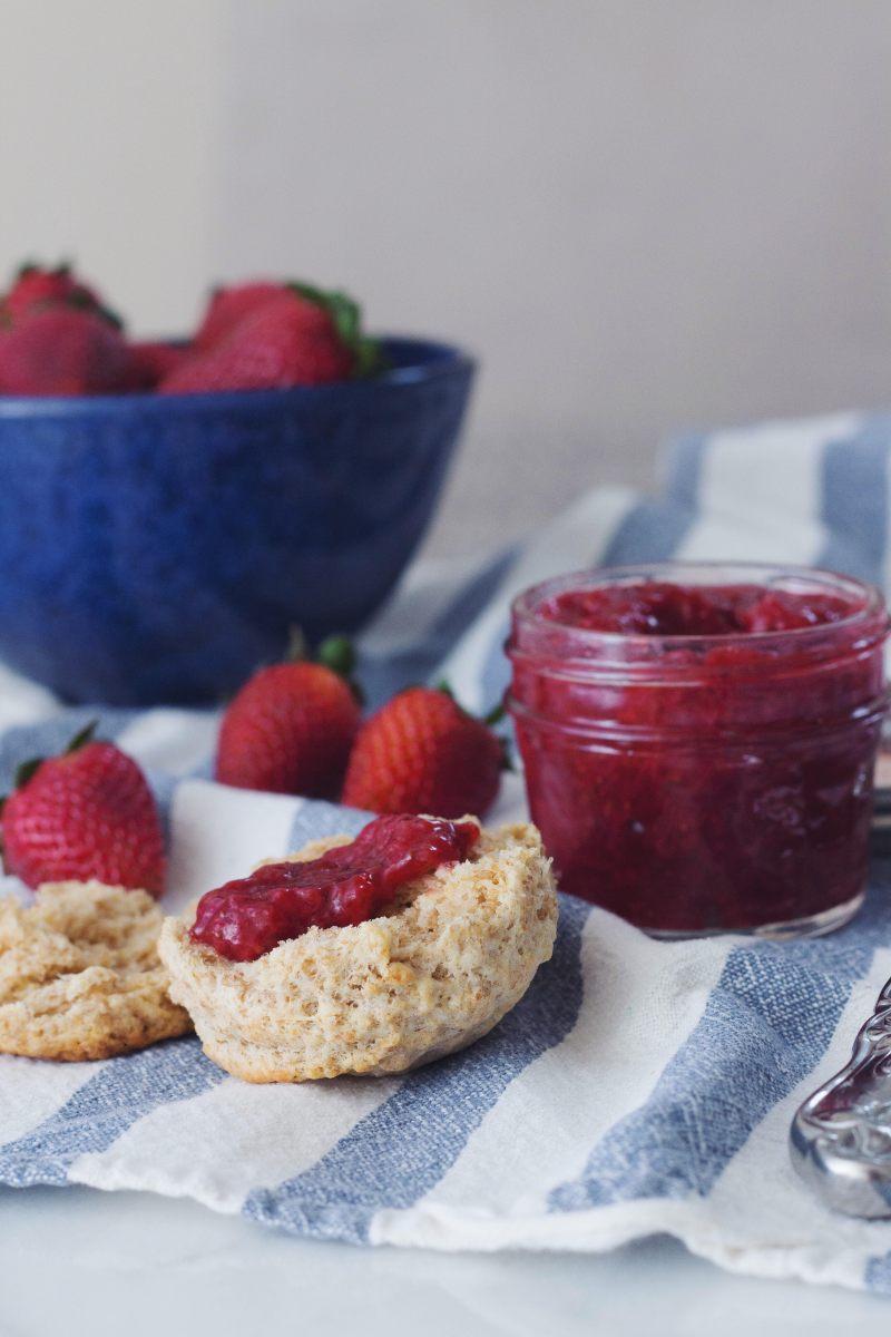 Homemade Small Batch Strawberry Jam