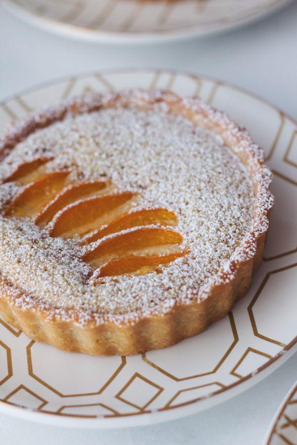 Apricot Frangipane Tartlets