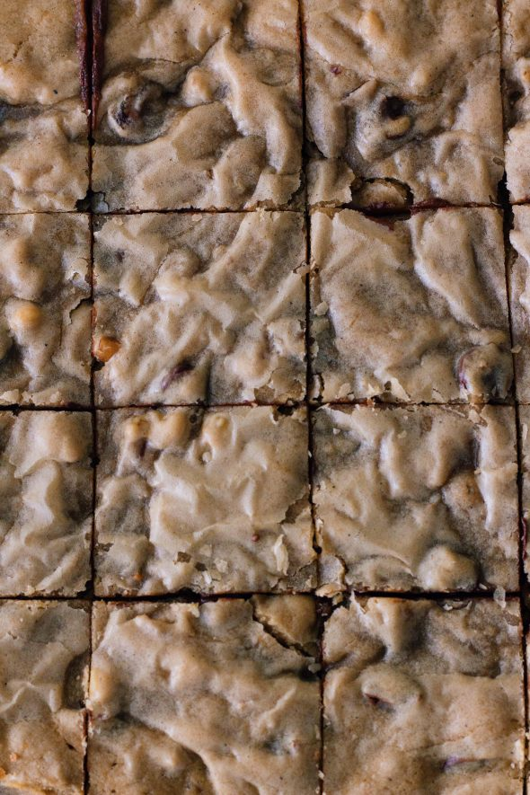 Brown Butter Date Blondies