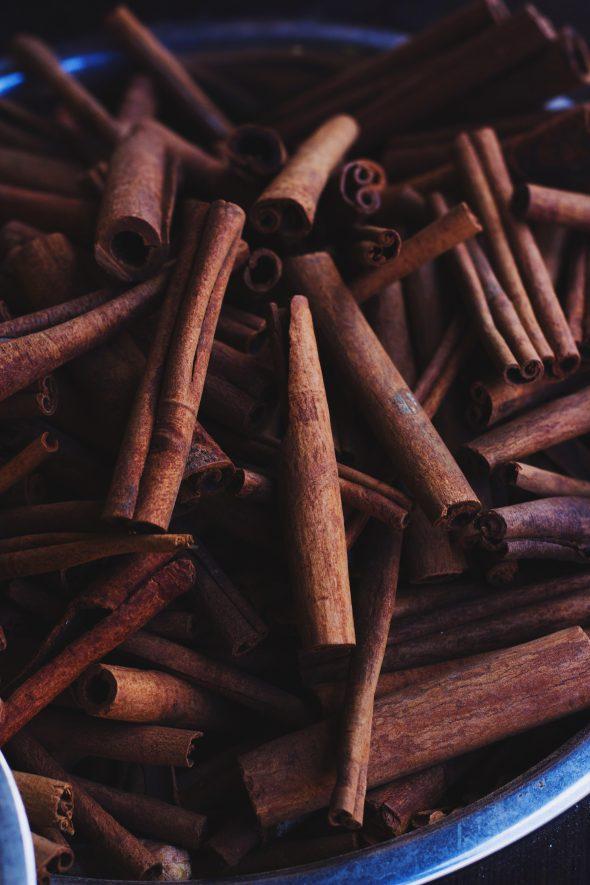 fresh cinnamon scrolls