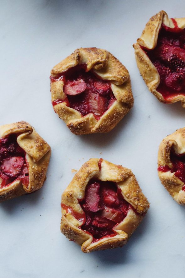 Red Fruit Galettes