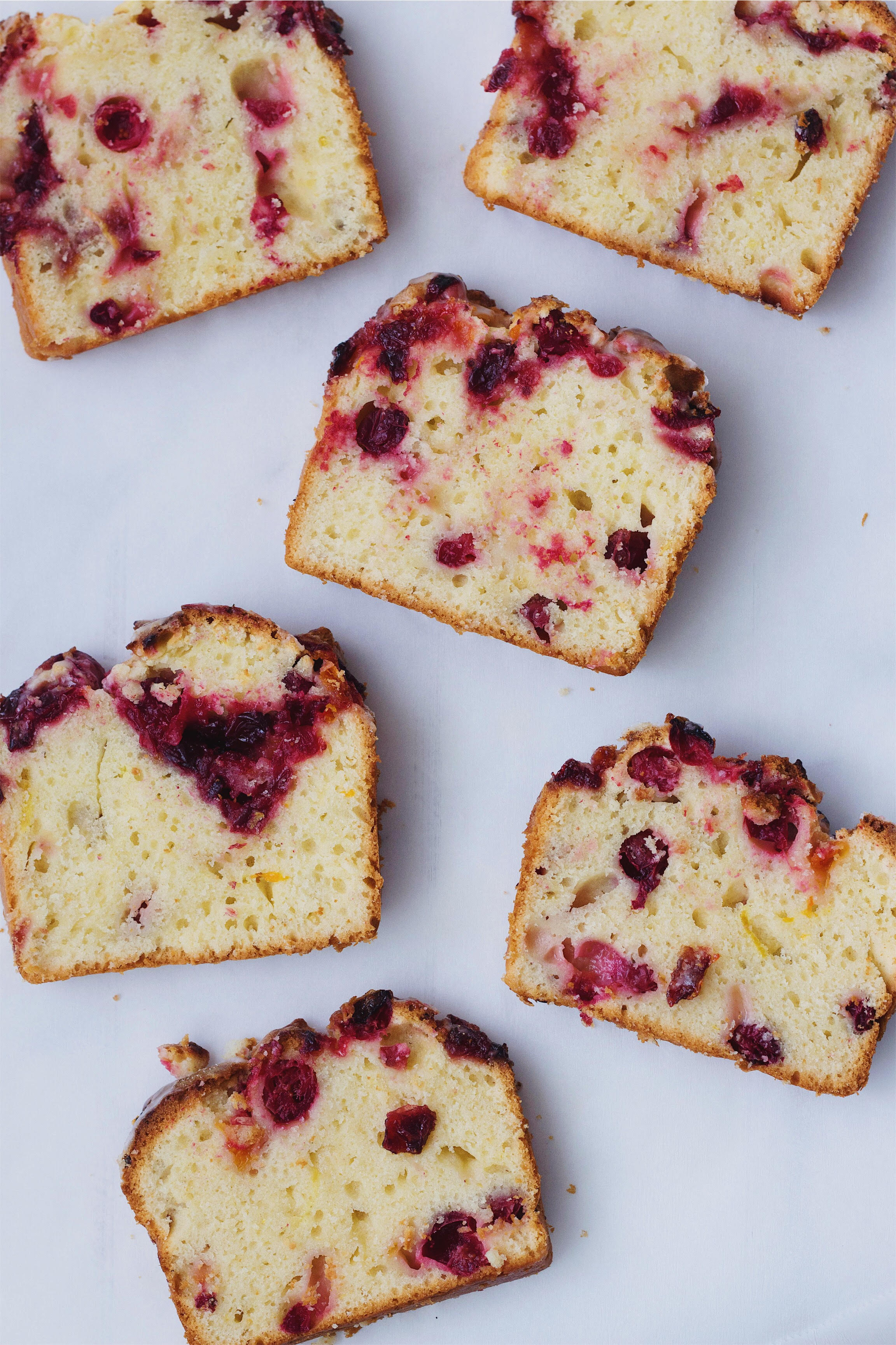 Cranberry Clementine Jam Pound Cake