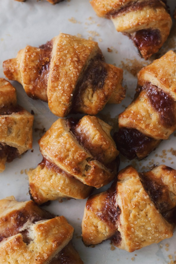 Strawberry Cheesecake Rugelach