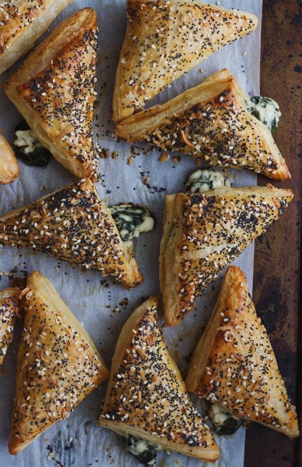 Everything Bagel Feta and Spinach Bourekas