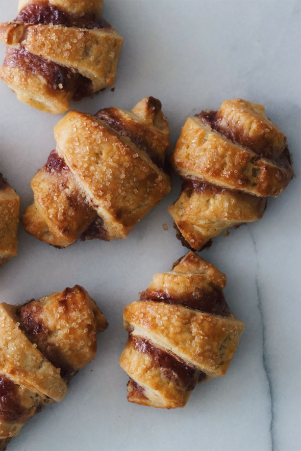 Strawberry Sour Cream Rugelach