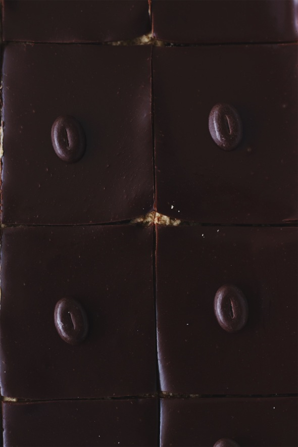 Chocolate Cappuccino Cheesecake Bars